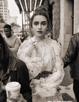 photos Lily Collins